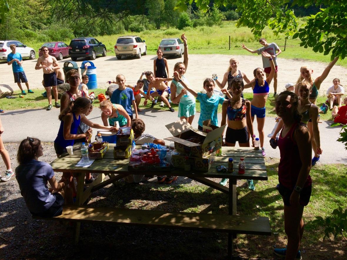 Stowe Running Camp Post Long Run